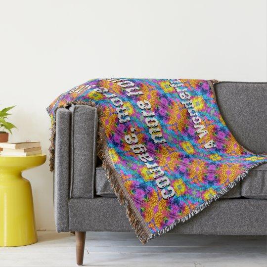 A Wonderful Hope Throw Blanket