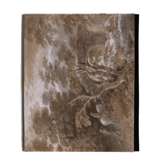 A Woodland Pool with Rocks and Plants, c.1765-70 ( iPad Folio Cover