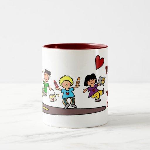 A Work of HeART Coffee Mugs