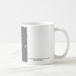 a working class hero is something to be...., a ... basic white mug