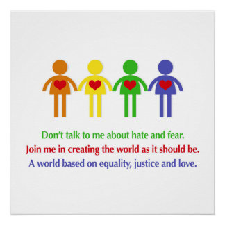 A World Based on Equality, Justice and Love