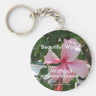 A World Without Alzheimer's Disease Keychain