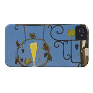 A wrought iron sign that illustrates the theme iPhone 4 cover