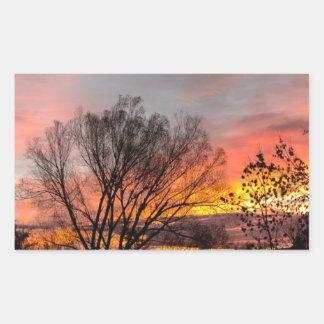 A Wyoming Sunrise Sticker