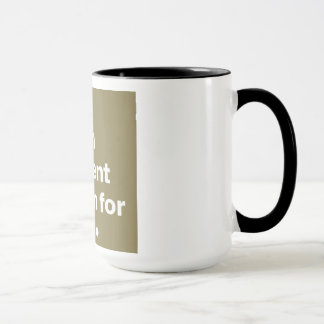 A yawn is a silent scream for coffee. mug