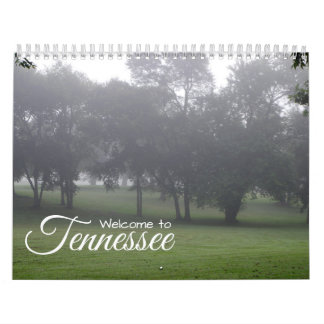 A year in Tennessee Calendar