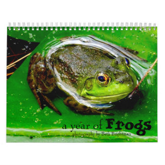 A Year of Frogs Calendar
