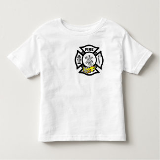 A Yellow Fire Truck Rescue Toddler T-Shirt