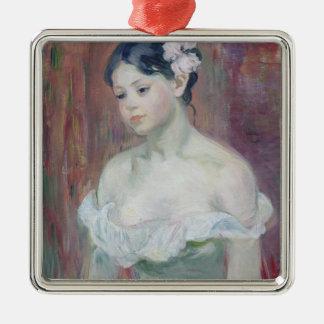 A Young Girl, 1893 Christmas Ornament