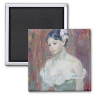 A Young Girl, 1893 Square Magnet