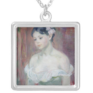 A Young Girl, 1893 Personalized Necklace
