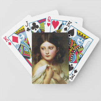 A Young Girl Called Princess Charlotte Bicycle Playing Cards