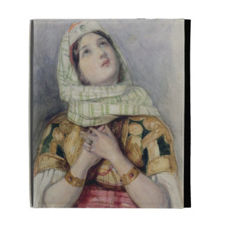 A Young Lady in Turkish Dress (w/c over pencil on iPad Case