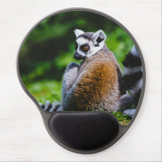 A Young Lemur, Animal Photography Gel Mouse Pad