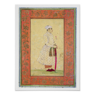 A young nobleman of the Mughal court, from the Lar Poster