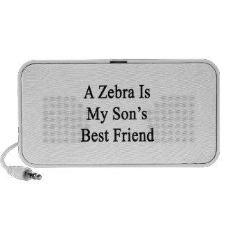 A Zebra Is My Son s Best Friend Mini Speakers