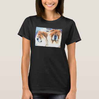 A ZEN KIND OF DAY chows-dark styles T-Shirt