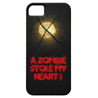 A ZOMBIE STOLE MY HEART ! BARELY THERE iPhone 5 CASE