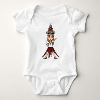 a zu ma Kiyouko English story Minato Tokyo Baby Bodysuit