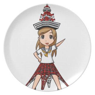 a zu ma Kiyouko English story Minato Tokyo Plate