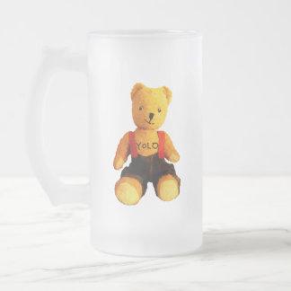 AA511A-Teddy-Yolo-light-Pattern-no-BG-cut-transpar Frosted Glass Beer Mug