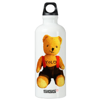 AA511A-Teddy-Yolo-light-Pattern-no-BG-cut-transpar Water Bottle