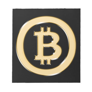 AA568-Bitcoin-Made-of-Gold-symbol Notepad
