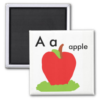 Aa Apple magnet phonic letter