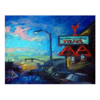 'AA Bar' Postcard
