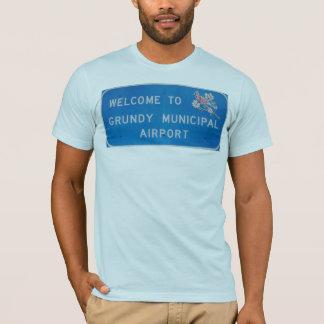 AA Grundy Airport T-Shirt