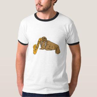 AA- Walrus Playing the Saxophone T-shirt