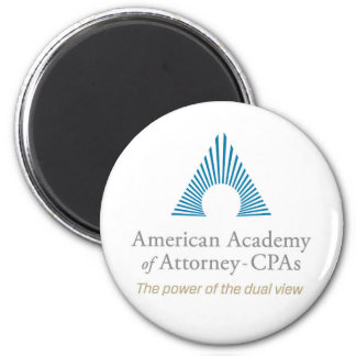 AAA-CPA Round Magnet