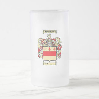 aaa frosted glass beer mug