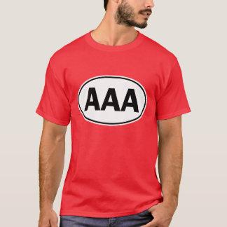 AAA Oval Identity Sign T-Shirt