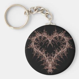 aaa-r-6rotes heart key ring
