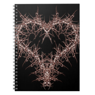 aaa-r-6rotes heart notebooks