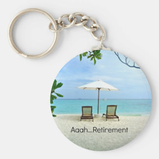 Aaah...retirement Key Ring