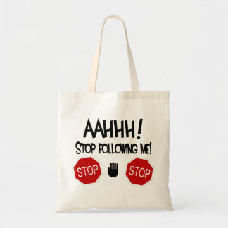 AAHHH! Stop Following Me! Bags