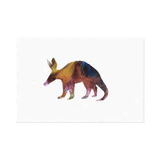 Aardvark Art Canvas Print