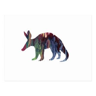 Aardvark Art Postcard