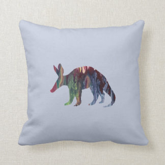 Aardvark Art Throw Pillow