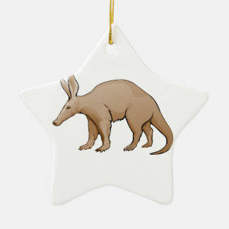 Aardvark Ceramic Ornament