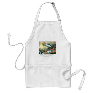 Aardvark Dentistry Funny Gifts & Collectibles Adult Apron