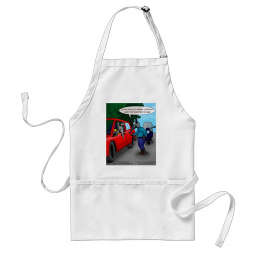 Aardvark Driving While Bugged Funny Tees Mugs Gift Apron