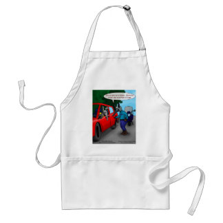 Aardvark Driving While Bugged Funny Tees Mugs Gift Standard Apron