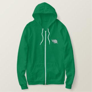 Aardvark Embroidered Hooded Sweatshirt
