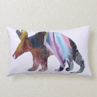 Aardvark Silhouette Lumbar Pillow