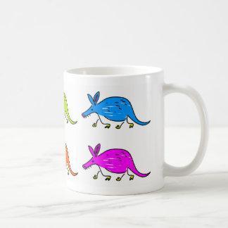 Aardvarks Basic White Mug