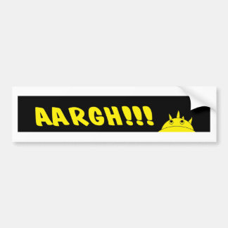 AArgH , angry Bumper Sticker