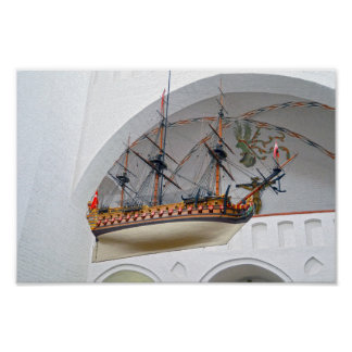 Aarhus Cathedral Votive Ship Poster